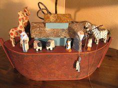 Colonial Noah's Ark Toy   Noah's Ark 2
