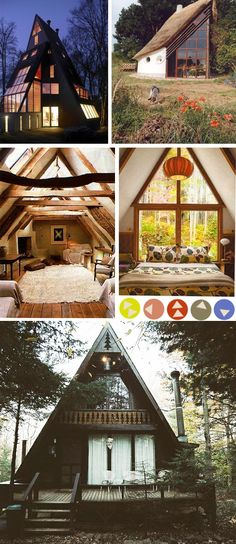 Want: An A-Frame home.