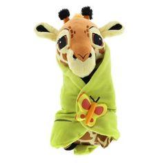 "Check Out the Baby Giraffe in a Blanket Plush 10""   Walt Disney World Resort"