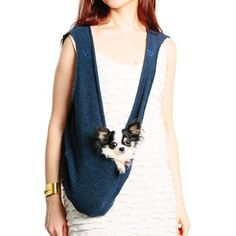 Scarf Sling Navy for your pup
