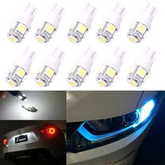 0.20$  Buy now - http://ali9ha.shopchina.info/go.php?t=32795936187 - 1XCar Interior LED T10 194 168 5050 5SMD W5W Wedge Door Instrument Side Bulb Lamp Car Light Blue/Green/red/Yellow/Pink Source   #aliexpressideas