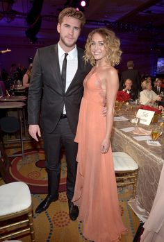 Miley Cyrus and Liam Hemsworth's Cutest Pictures | POPSUGAR Celebrity Photo 36