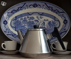 Hackman Sorsakoski Finland, vintage coffee pot 1960s