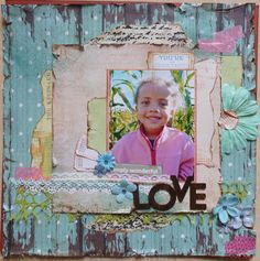 Love: As seen in Scrapbook News and Review