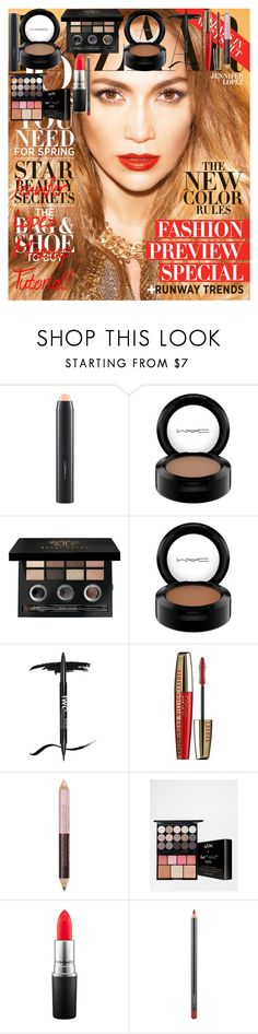 Jennifer Lopez Makeup Tutorial! by oroartye-1 on Polyvore featuring beauty, Bobbi Brown Cosmetics, MAC Cosmetics, NYX, L'Oréal Paris and Paco Rabanne