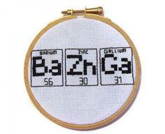 Beki710's Bazinga cross stitch