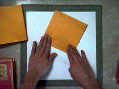 How To Assemble Shabby Chic Envelope Mini - http://www.jannbdesigns.com/