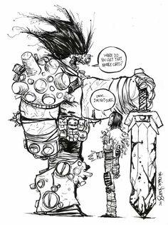 Comic Book Artist: Skottie Young | Abduzeedo Design Inspiration & Tutorials