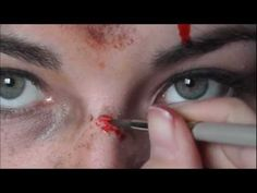 Tomb raider Lara croft make up 2013 - YouTube