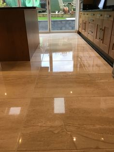 Kitchen Marble Floor Cleaning, Cleaner, Diamond Polishing And Sealing  Hampshire