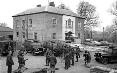 Scene at UDR base in Clogher, Co Tyrone, N Ireland, the morning after the Provisional IRA gun and rocket attack on the evening of May Civil Rights March, Northern Ireland Troubles, Irish Republican Army, Northern Island, Lest We Forget, British Army, The Republic, Belfast, Historical Photos