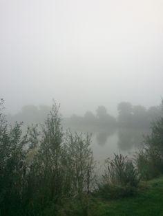 Misty morning in Thorpe Park