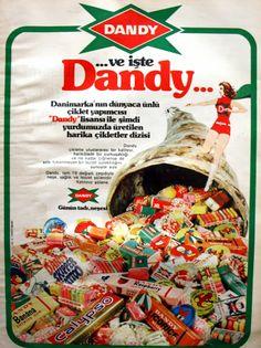 OĞUZ TOPOĞLU : Dandy çiklet, 1975, nostaljik eski reklamlar