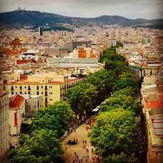 La Rambla, Barcelona, photo by @d.kasia (Warsaw. Poland)