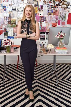 ALEXA HIRSHELD, PAPERLESS POST: Workplace Style From Some of Our Favorite Female Bosses #theeverygirl