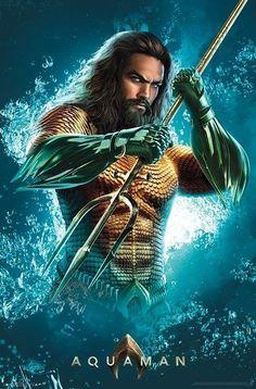 Arthur Curry Arte Dc Comics, Marvel Comics, Marvel Cinematic Universe, Dc Universe, Aquaman 2018, Avengers, Jason Momoa Aquaman, Fictional Heroes, Batman Poster