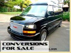 2014 GMC 9 Passenger Conversion Van Amura Presidential