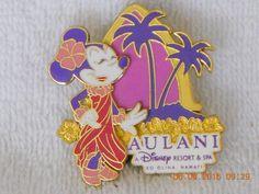 Disney Aulani  Minnie Mouse Diamond Head Hawaii Pin