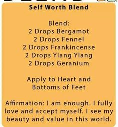 Self-Worth Blend