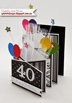 Splotch Design - Jacquii McLeay Independent Stampin' Up! Demonstrator: Birthday Cards