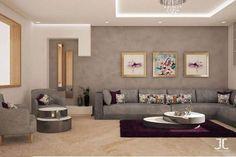 salon moderne salon moderne design gris insidesign by jabel - Salon Marocain Moderne Mauve