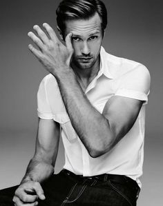 Alexander Skarsgård ( only because I want a pet undead Viking that would murder people for me)
