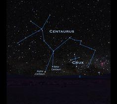 Centaurus constellation includes Alpha Centauri and Beta Centauri.