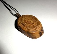 Driftwood pendant necklace. Natural wood jewelry by NayasArt