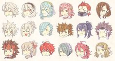 Kamui 2x, Azura, Sakura, Saizo, Kagerou, Kana 2x, Shigure, Hinata, Oboro, Azama, Ryoma, Takumi, Hinoka, Setsuna, Tsubaki, Hana.