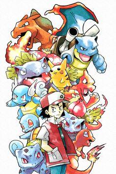 Original Red Pokemon by Foxeaf on DeviantArt