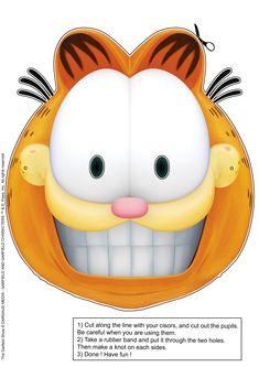 "Garfield | Garfield Show"" : Garfield's Halloween special masks | The Garfield ..."