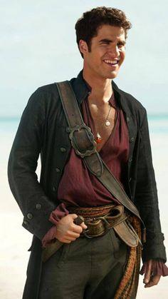 Darren Criss is a pirate.