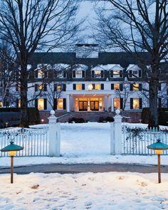 From Martha Stewart Living, January 2013. Woodstock Inn & Woodstock, Vermont