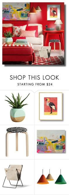 """""""Sin título #406"""" by sally-simpson ❤ liked on Polyvore featuring interior, interiors, interior design, home, home decor, interior decorating, Thom Filicia, Dot & Bo, Artek and Ethan Allen"""