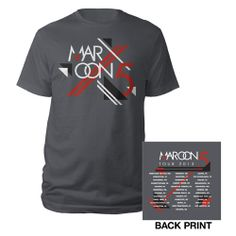 Maroon 5 Official 2013 Summer Tour Tee $17.95    If you get me this shirt I will be your best friend!!