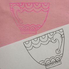 Freubelweb borduurcursus deel 2. Leer in drie stappen alle fijne kneepjes van de techniek borduren. Dit keer hoe neem je een borduurpatroon over op stof?
