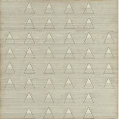 Agnes Martin - Words, 1961, ink on paper mounted...