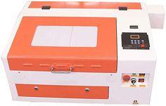 TEN-HIGH Laser Engraving Cutting Machine 400x300mm 40W CO2 Laser Engraver with USB Port: Amazon.co.uk: DIY & Tools Diy Tools, Laser Engraving, Usb, Amazon, Riding Habit