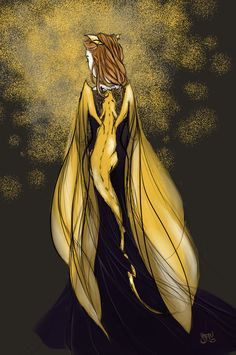 "Absolutely GORGEOUS Aelin fanart. Omg. ""Queen Aelin Ashryver Galathynius"" by Vervaineyes on Deviantart"