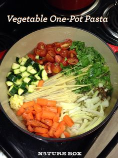 Vegetable One-Pot Pasta