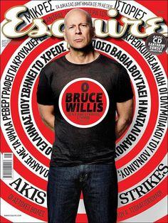 Bruce Willis - Esquire Greece