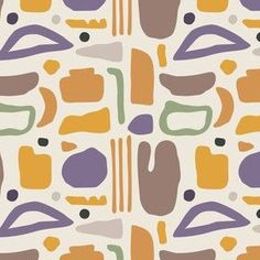 Shop Over 1 Million Fabric Designs | Spoonflower Abstract Shapes, Geometric Shapes, Watercolor Flower Vector, Bohemian Curtains, Desert Colors, Chair Fabric, Modern Country, Modern Fabric, Modern Bohemian