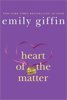 I enjoy all of Emily Giffin's books. I think she has a new one coming out soon.