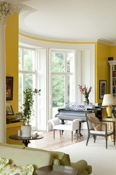 Love the windows that also double as doors!