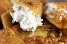 Crab Rangoon Recipe! So Delicious! Do you enjoy the Crab Rangoons from Panda Express? If so, you should make them at home! I found this Crispy Crab Rango