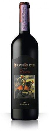 Banfi Chianti Classico Riserva. Bouquet: Rich with notes of cherries, plums, and iris. Taste: Deep cherry and leather flavors with subtle wood notes. Supple tannins, good acidity, and a lingering finish.  Food Pairing: Perfect with flavorful roasts, pastas, and cheeses.