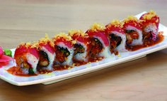 End April on a spicy note. #flamingroll #fusionsushi #sharethelove #sushi_zushi