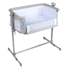 Shop for Milliard Side Sleeper Bedside Baby Bassinet/Cradle. Get free delivery On EVERYTHING* Overstock - Your Online Baby Furniture Shop! Co Sleeper Bassinet, Baby Bassinet, Baby Cribs, Baby Bedside Sleeper, Wood Bassinet, Hanging Bassinet, Bassinet Cover, Halo, Jewerly