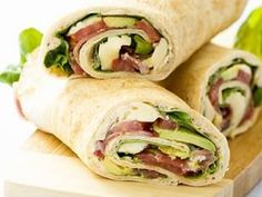 Prosciutto Avocado Wraps - Yahoo!7 Food