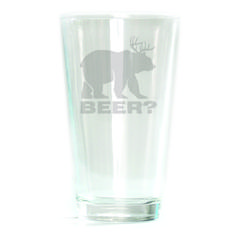 Pub Glass - 16oz - Beer?